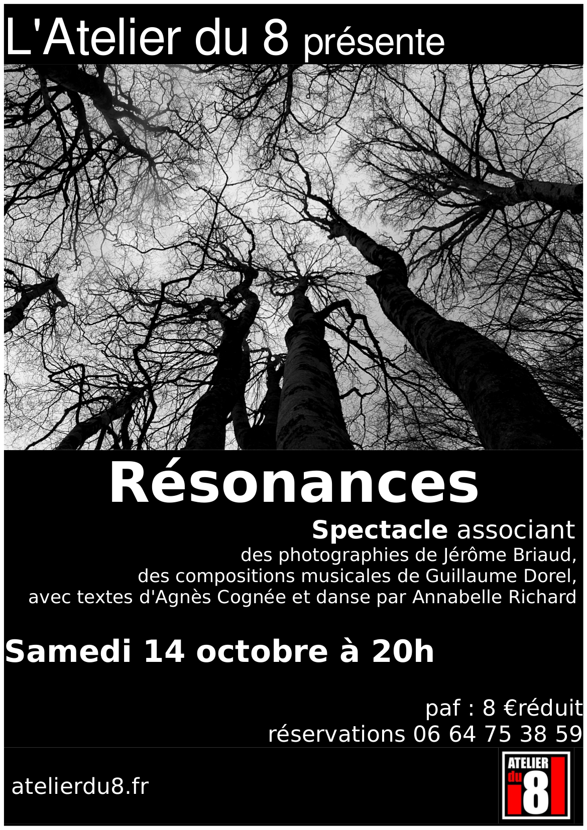 Affiche de 'Résonances'